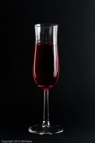 Glass on black 3