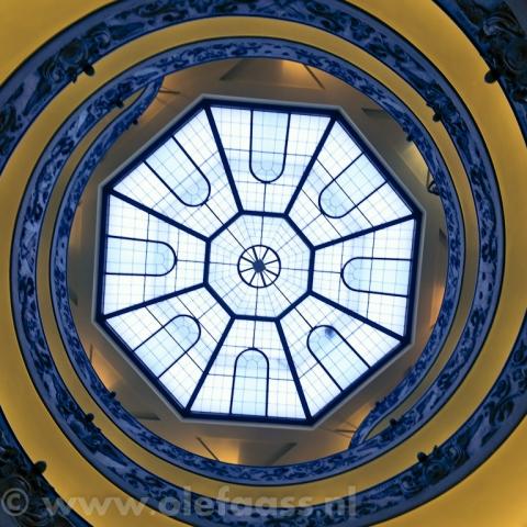Wenteltrap in het Vaticaans Museum